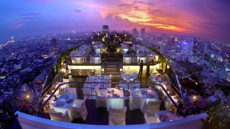 VERTIGO AND MOON BAR, BANYAN TREE HOTEL, BANGKOK, THAILAND