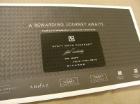 Hyatt Gold Passport
