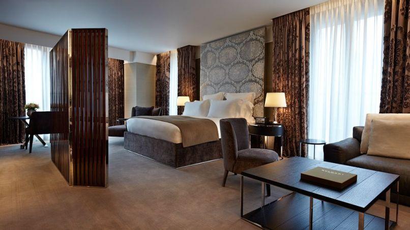ROOM, BULGARI HOTEL LONDON, UNITED KINGDOM