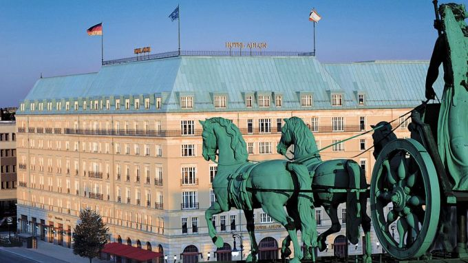 HOTEL ADLON KEMPINSKI BERLIN, GERMANY