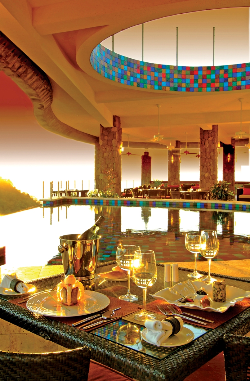 JADE MOUNTAIN CLUB RESTAURANT