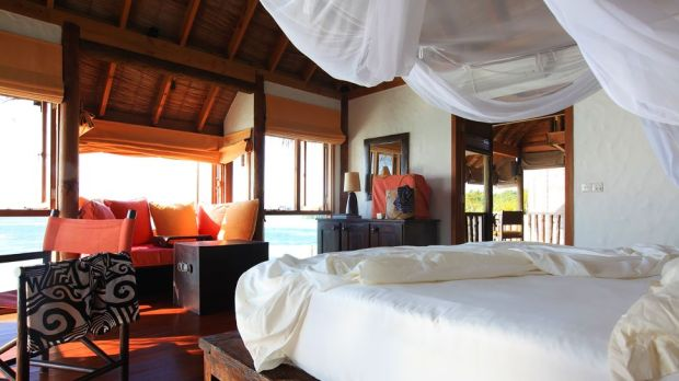 OVERWATER VILLA SUITE - BEDROOM