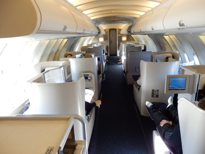 BRITISH AIRWAYS CLUB WORLD UPPER DECK