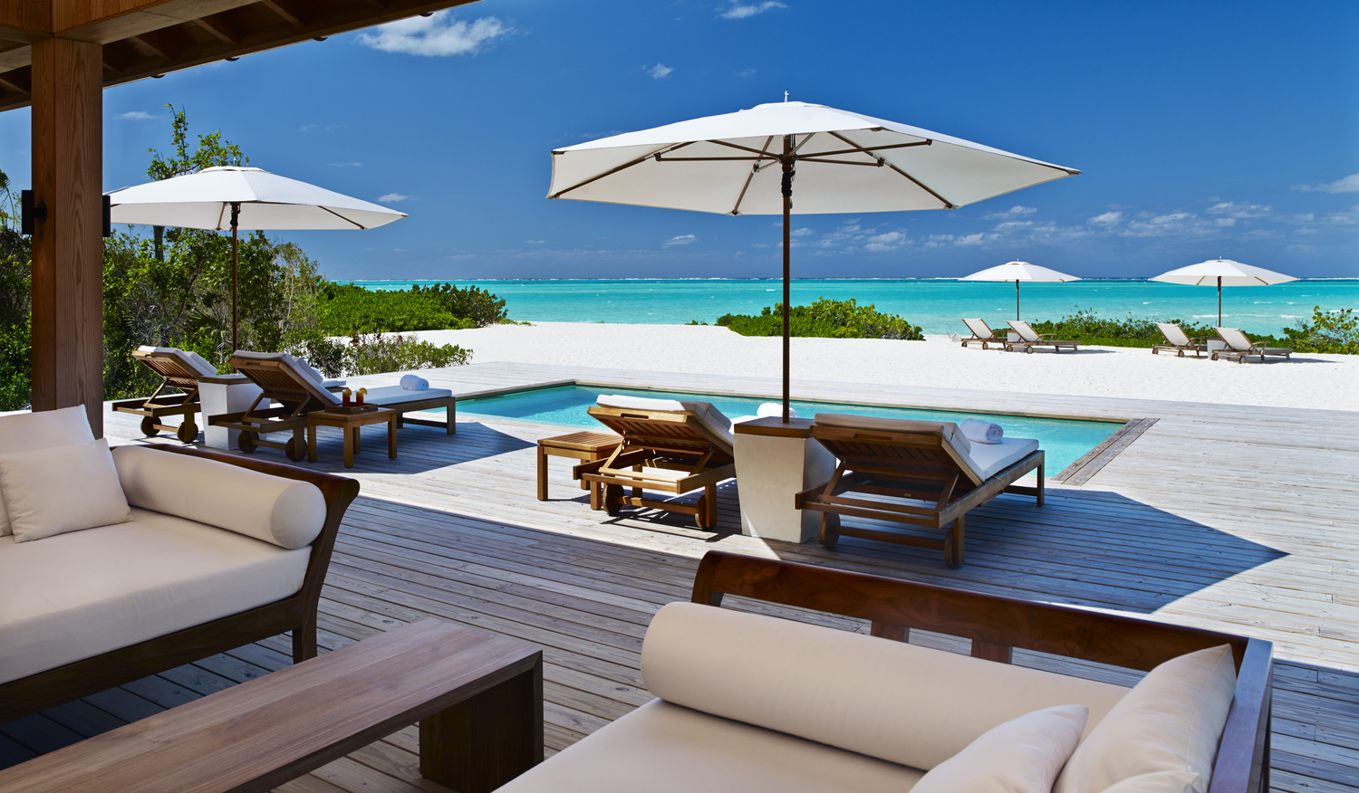 Two Bedroom Beach House Pool Deck The Luxury Travel Expert