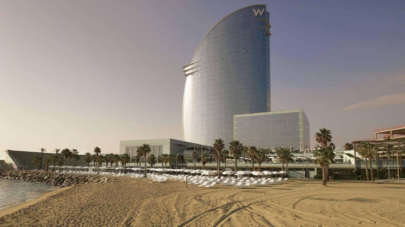 Exterior: Hotel Review: W Barcelona (Spain)