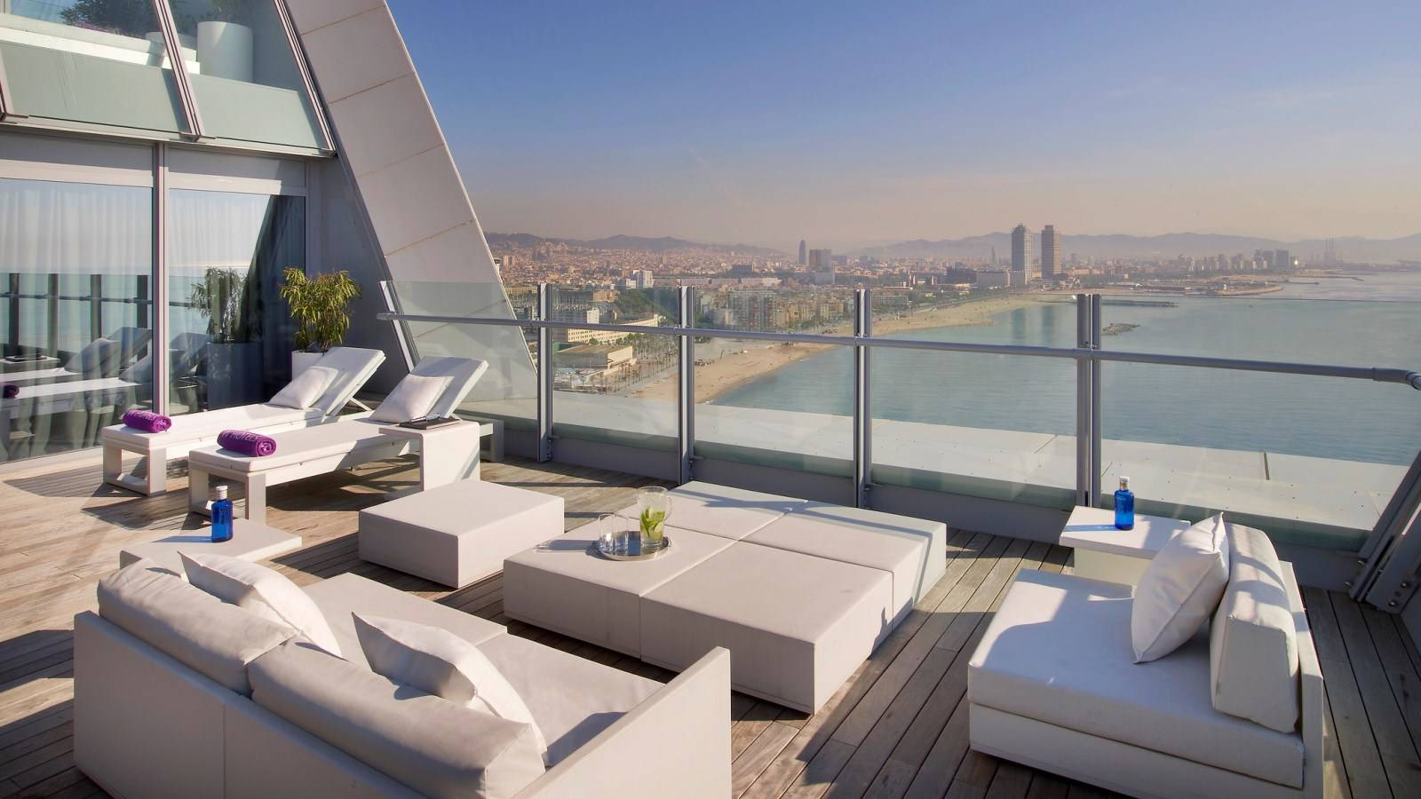 Hotel review w barcelona spain the luxury travel expert for Hotel barcelona w