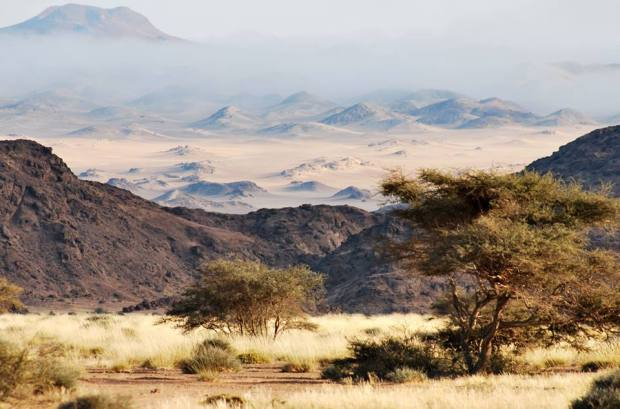LANDSCAPE SURROUNDING HOANIB SKELETON COAST CAMP
