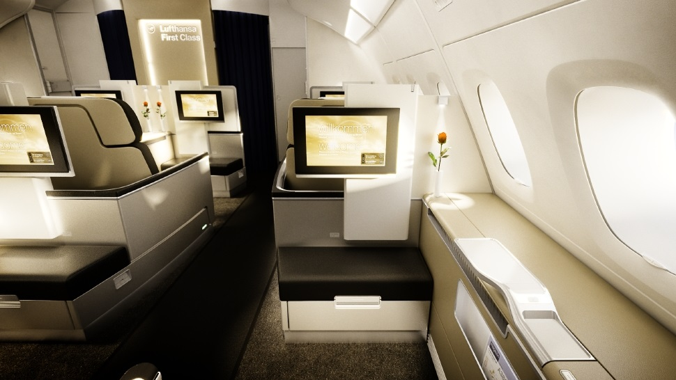 top 10 most luxurious first class suites in the sky the luxury travel expert. Black Bedroom Furniture Sets. Home Design Ideas