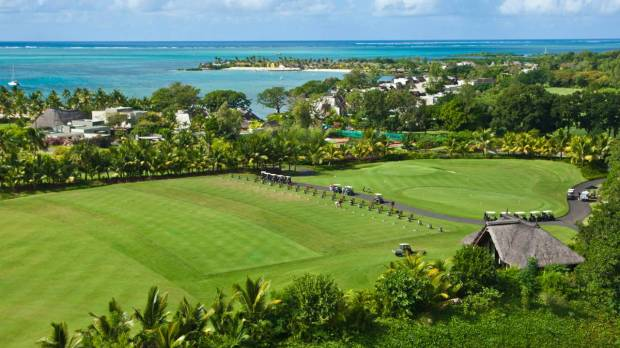 GOLF COURSE: AIREAL VIEW