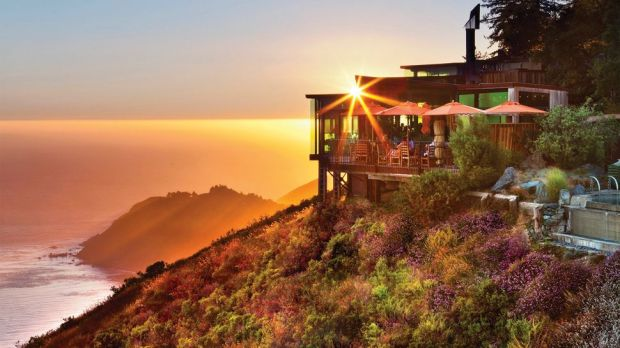 SIERRA MAR RESTAURANT, BIG SUR, USA