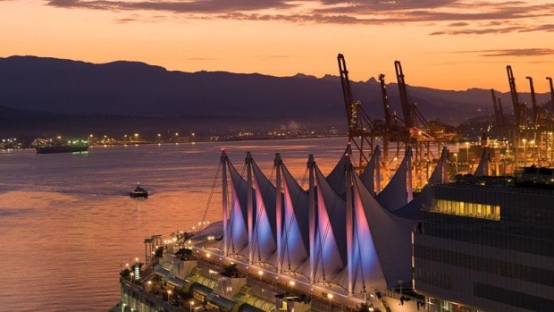 CANADA PLACE HARBOUR VIEW