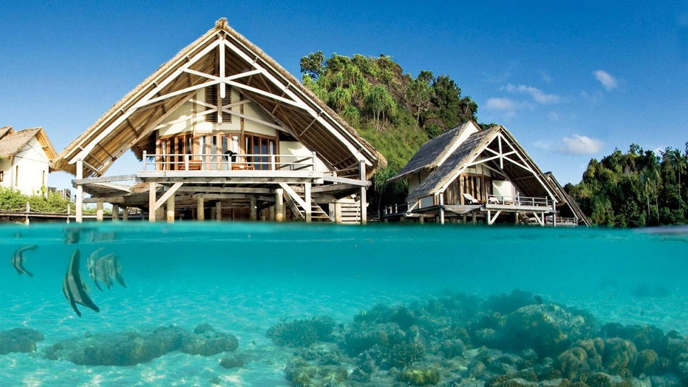 Overwater Bungalows In Malaysia Part - 27: MISOOL ECO LODGE, INDONESIA