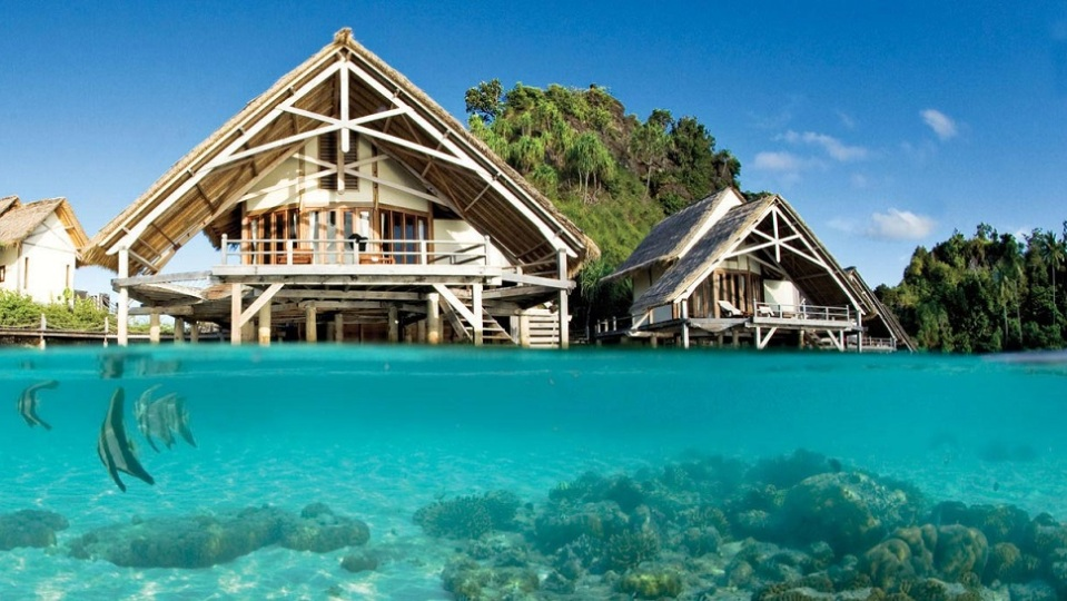 7. MISOOL ECO LODGE, INDONESIA