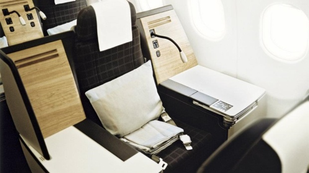 SWISS INTERNATIONAL AIR LINES BUSINESS CLASS