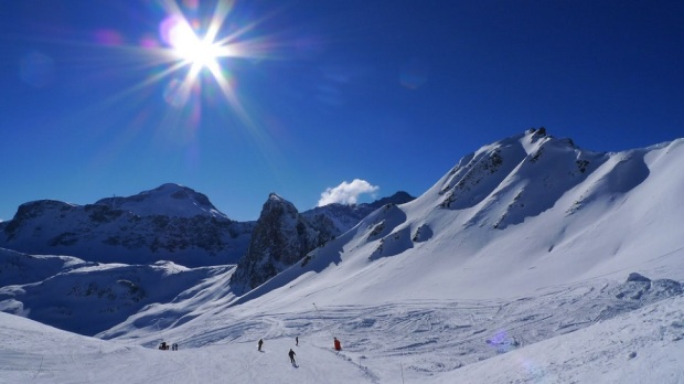 VAL D'ISERE SKI AREA, FRANCE