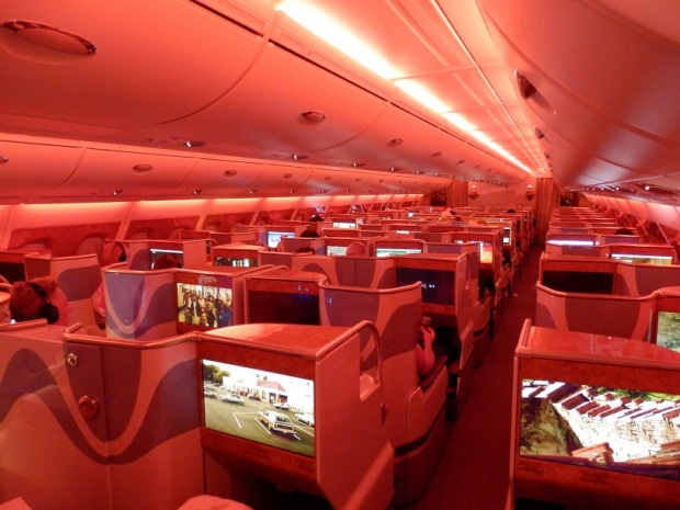 BUSINESS CLASS CABIN - LARGEST CABIN WITH MOOD LIGHTING