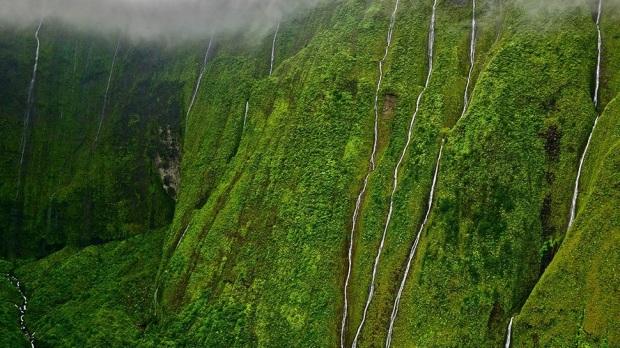 WEEPING WALL, HAWAII, USA