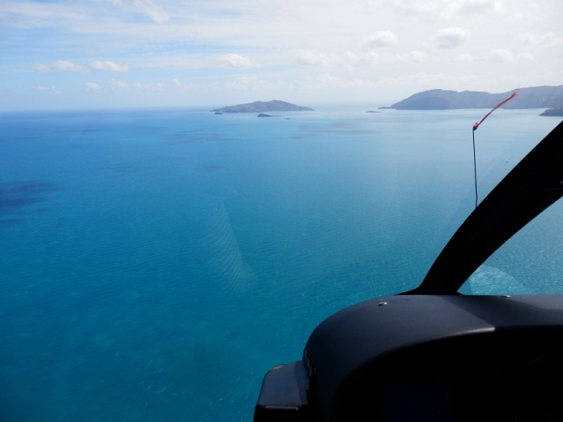 HELICOPTER FLIGHT TO HAYMAN ISLAND