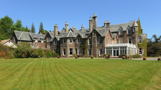 CROMLIX HOUSE, SCOTLAND, UNITED KINGDOM