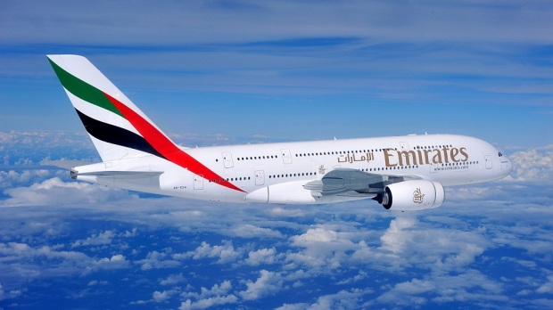EMIRATES A380-800: DUBAI TO SAN FRANCISCO