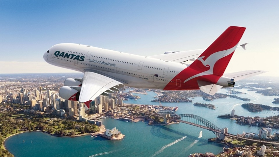 1. QANTAS AIRWAYS: DALLAS (USA) TO SYDNEY (AUSTRALIA)