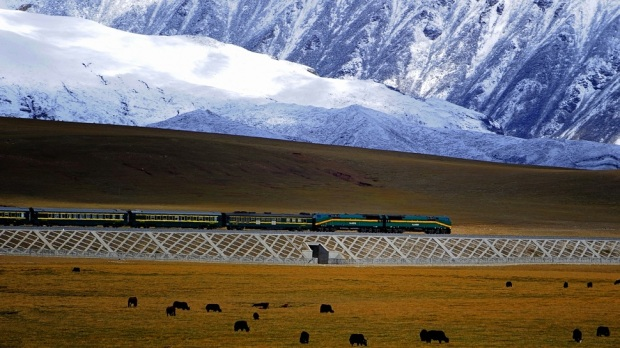 QINGHAI-TIBET RAILWAY, CHINA