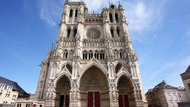 NOTRE DAME CATHEDRAL, AMIENS