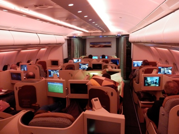 BUSINESS CLASS MOOD LIGHTING