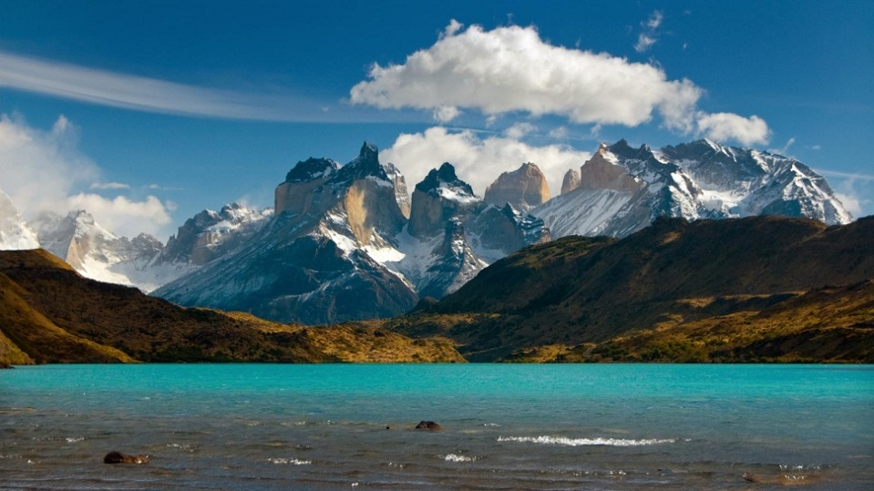 1. TORRES DEL PAINE NATIONAL PARK, CHILE