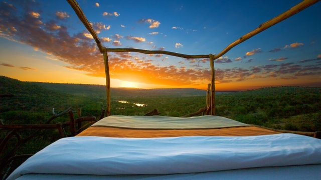 Outside Bed top 10: world's most amazing outdoor hotel rooms – the luxury