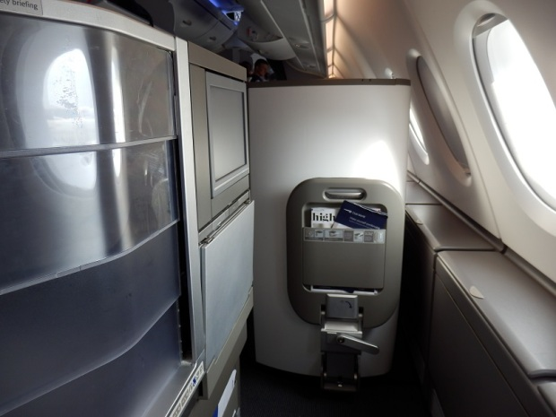SEAT 56A (WITH SCREEN DIVIDER)