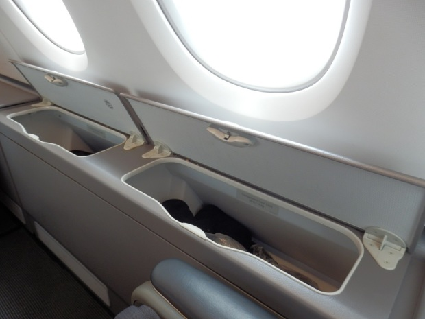 SEAT 56A: EXTRA STORAGE SPACE