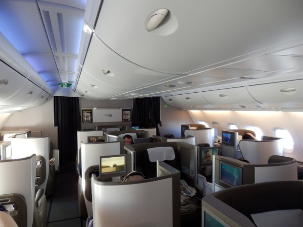 BUSINESS CLASS CABIN ON THE UPPER DECK