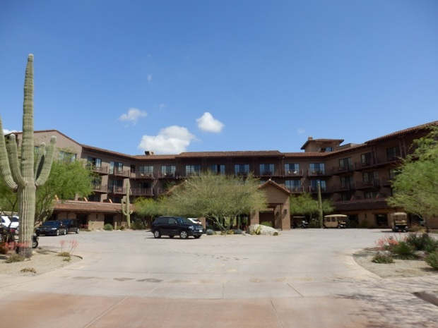 HOTEL EXTERIOR: FRONT SIDE