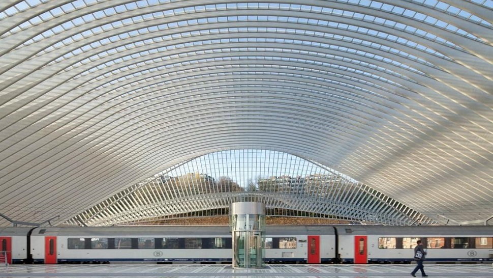 Liege Belgium  city pictures gallery : 10. STATION LIEGE GUILLEMINS, BELGIUM