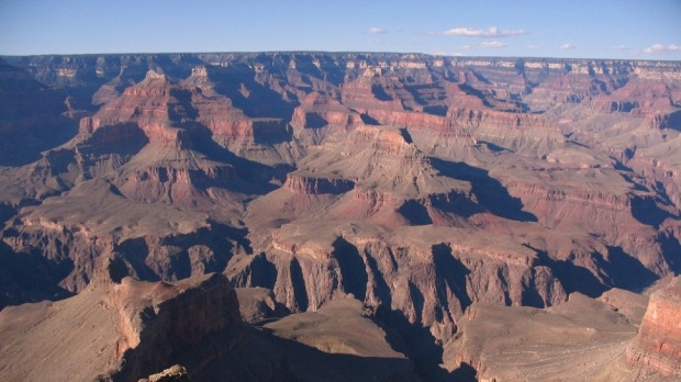 GRAND CANYON - VIEW FROM HOPI POINT SOUTH RIM