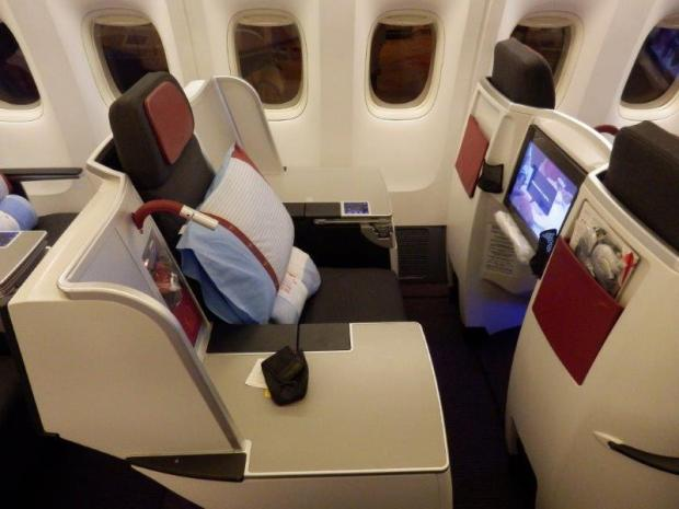 BUSINESS CLASS SEAT 3A