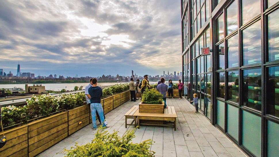 Exterior: Top 10: Best Rooftop Bars In New York City