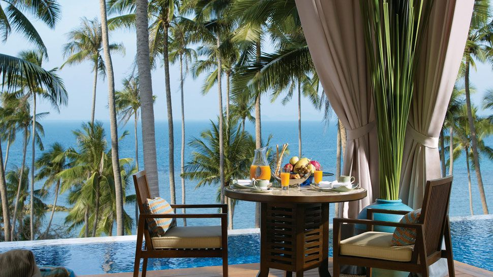 Review four seasons resort koh samui thailand the for Small luxury hotels of the world wiki