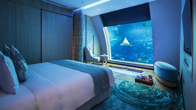 Top10 best underwater hotels in the world the luxury for Most expensive hotel room in dubai