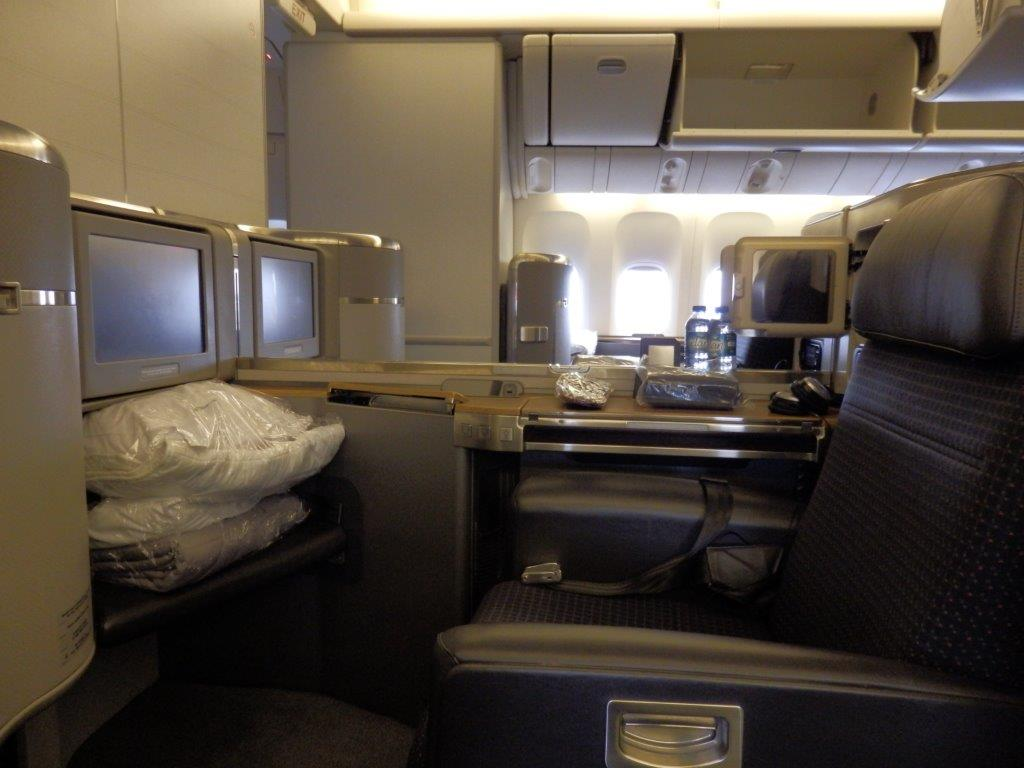 American Airlines B777 300er First Class London To New