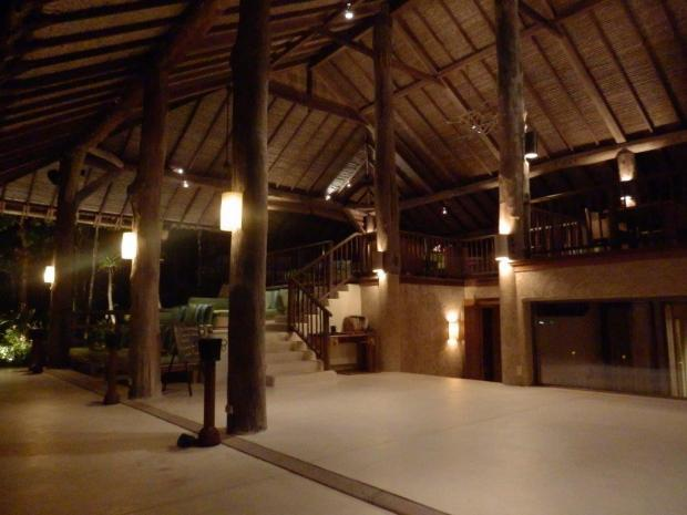 HILLTOP RESORT AT NIGHT