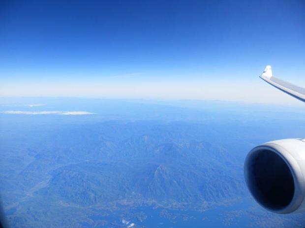 SCENERY WHILE FLYING ABOVE MYANMAR