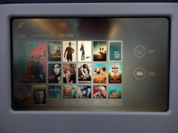 INFLIGHT ENTERTAINMENT SYSTEM: MOVIES