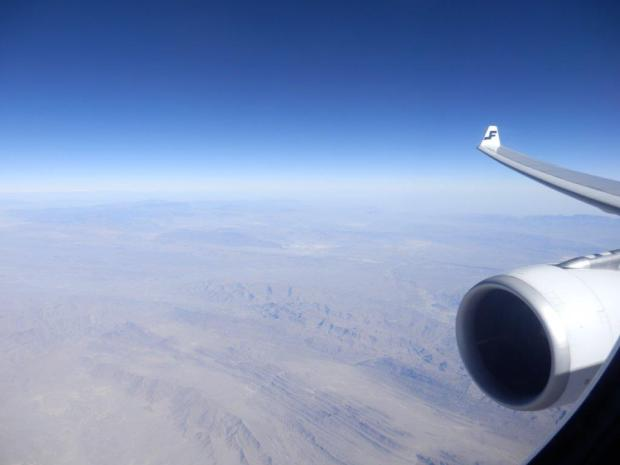SCENERY WHILE FLYING ABOVE PAKISTAN