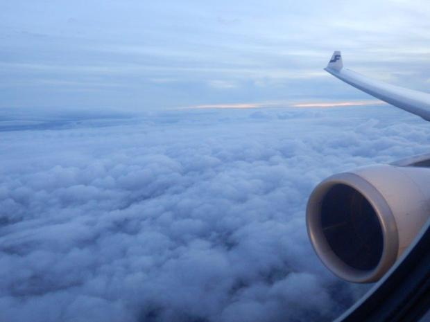 REACHING THE HELSINKI AIRSPACE