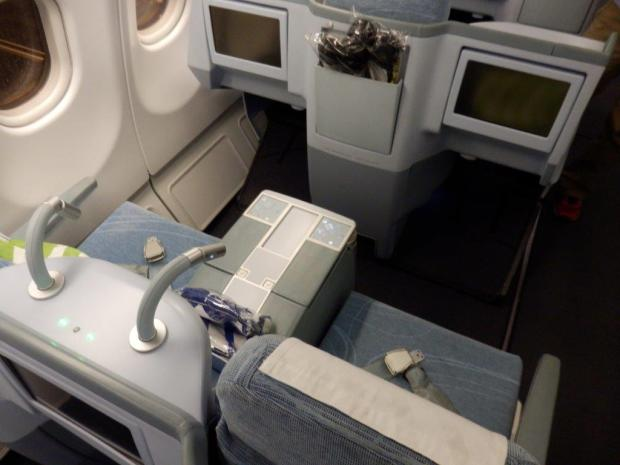 BUSINESS CLASS SEATS 5A & 5C