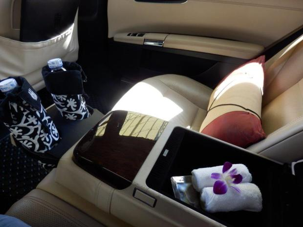 HOTEL LIMOUSINE TRANSFER FROM THE AIRPORT