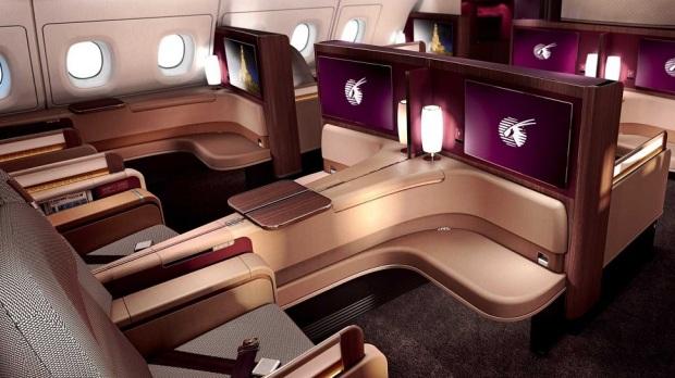 6. FLYING FIRST CLASS IN QATAR AIRWAYS' AIRBUS A380