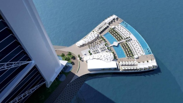 BURJ AL ARAB'S NEW POOL DECK